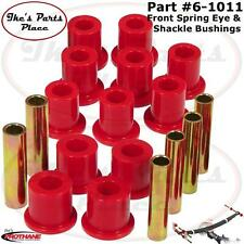 Prothane 6-1011 Front Spring&Spring Shackle Bushing Kit 77-79 Ford  F-250-4wd