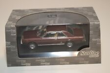 FF 1:43 STARLINE FIAT 130 COUPE 1971 METALLIC MAROON MINT BOXED