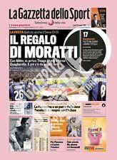 ***VENDO GAZZETTA DELLO SPORT DEL 18/05/2009-INTER CAMPIONE D'ITALIA***