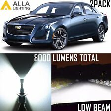 Alla Lighting Low Beam Headlight 9006XS White LED Bulbs for 2003~07 Cadillac CTS