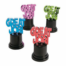 Great Job Award Trophies - Stationery - 12 Pieces