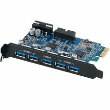ORICO 5 Port USB 3.0 PCI Express PCI-E Card Expansion Adapter 20-PIN Connector