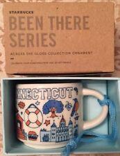 Starbucks Been There Connecticut Ornament Mini Mug