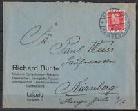 Deutsches Reich, MiNr. 414 EF SSt Leipzig - Messestadt 14.09.1930