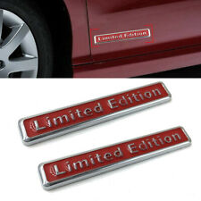 1* 3D Limited Edition Emblem Car Body Trim Sticker Decal Badge Accessories Red