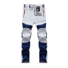 Hombre Exterior Alpinismo Senderismo Pantalones Estilo Militar Largo