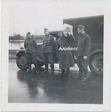 Foto Kfz Soldaten-Wehrmacht   2.WK (e685)