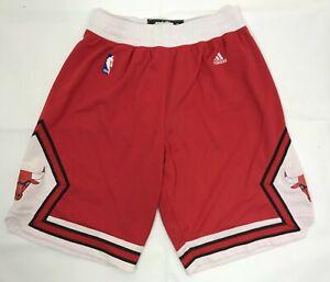 Chicago Bulls 2012/2013 ADIDAS Home Basketball Shorts Men's Size M NBA Pants