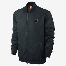 New Nike Court Bomber Men's Tennis Jacket Size XS 816269-010 Black Nike Xsmall