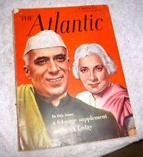 MAGAZINE THE ATLANTIC INDIA TODAY INDIAN ART MUSIC JAVNI  DANCE IN MANIPUR 1953