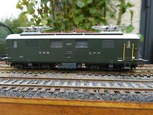 Locomotive électrique du réseau SBB CFF N° 10031 de la marque Lima ref  208444 H