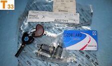 3 serrures / 2 clés / code card PIAGGIO HEXAGON / SUPER HEXAGON 125 180 neuf