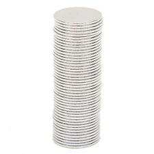 50 Stk Starke Neodym Magnete N52 15mm x 1mm Rund Magnet Für Pinnwand Kühlschrank