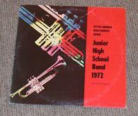 Fifth Annual Northwest Iowa JUNIOR HIGH SCHOOL BAND 1972 LP Funk breaks private