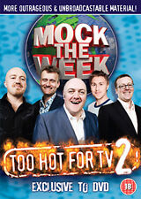 DVD:MOCK THE WEEK - TOO HOT FOR TV 2 - NEW Region 2 UK