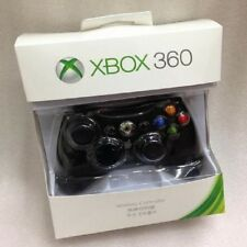 Genuine Microsoft Xbox 360 Gamepad Wireless Game Controller Black