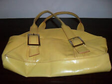 Kenneth Cole Women's Yellow Color Leather Handbag SALE