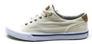 Sperry Top-Sider Mens Striper II LTT Boat Shoes Khaki Tan Size 8 M US