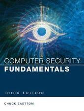 COMPUTER SECURITY FUNDAMENTALS - EASTTOM, CHUCK - NEW PAPERBACK BOOK
