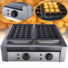 New listing 110V Commercial Electric Takoyaki Machine Takoyaki Maker Fish Ball Grill Machine