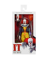 """NECA IT 1990 PENNYWISE 8"""" CLOTHED ACTION FIGURE IN STOCK"""
