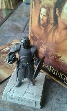 "LOTR by Les Etains du Graal of Paris Fine Sculpture ""King Theoden"" Boxed MINT"