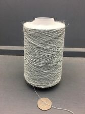 200G CONES 50% SILK 50% LINEN 22NM FINE YARN GREYIE BLUE MIX 63641
