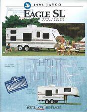 Travel Trailer Brochure - Jayco - Eagle SL series - Fifth Wheels - 1996 (MH82)