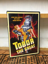 TOBOR THE GREAT DVD Classic Science Fiction Out of print with insert poster