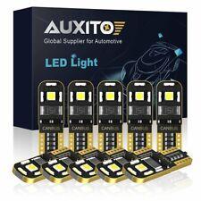 10X 2825 2827 T10 168 LED Sidemarker Parking Interior Trunk Light Bulb 6000K 12V