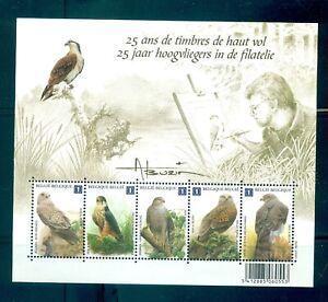 Belgium - Sc# 2436. 2010 Birds. MNH Souv. Sheet. $13.50.