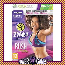 Zumba Fitness Rush (Microsoft Xbox 360) Brand New