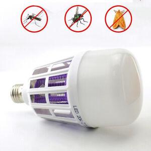 20W Anti Mosquito Light Bulbs Repellent Bug Zapper Insect Killer Night Lamp