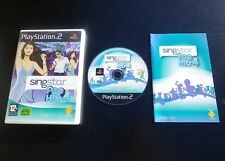 SINGSTAR POP HITS 4 : JEU Sony PLAYSTATION 2 PS2 (Kyo, Luke, Soha..)