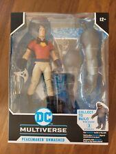 DC Multiverse Suicide Squad Peacemaker Unmasked Cena McFarlane MISB