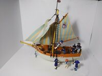 Playmobil 3055 Schooner With Substitutions vintage rare retired set W/ extras
