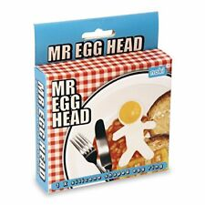 Mr Egg Head Egg Ring Silicone Shape. Fun Fried Cooking Utensil Kitchen Gift Idea