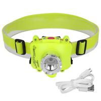Diving Flashlight Headlamp Underwater 50M 3200LM XPE LED Waterproof Lamp Light