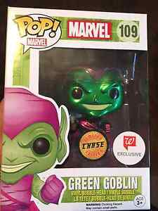Funko Pop! Green Goblin Metallic Chase - Walgreens Exclusive
