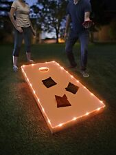 TossBrightz Cornhole/Bean Bag Game Led Lighting Kit Lights Only, No Boards New