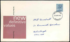 GB FDC 1978, 10.5p definitiva, Edimburgo IED #c32340