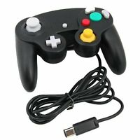 Black Wired Controller for Nintendo GameCube GC and Wii Console CLASSIC JOYPAD