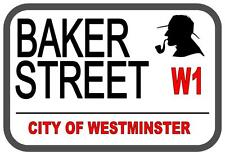 Sherlock HOLMES Baker street Cartello in metallo