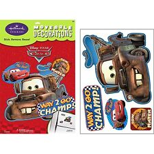 DISNEY CARS MATOR Wall Decals Room Decor Stickers TOW TRUCK Party Decorations BE