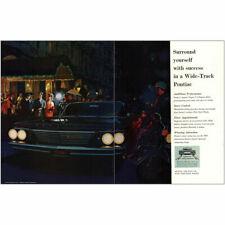 1960 Pontiac Bonneville: Surround Yourself With Success Vintage Print Ad