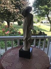 "Rare Vintage 1980 ""Windblown"" Sculpture by Klara Sever & Austin Productions"
