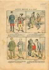 Caricature Politique Antiparlementaire Députés Franc-Maçons FM 1905 ILLUSTRATION