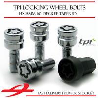 Premium Locking Wheel Bolts 14x1.5 Nuts Tapered For VW Passat CC 08-12