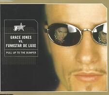 GRACE JONES VS. FUNKSTAR DE LUXE Pull Up to MIXES UK CD Single SEALED Bumper