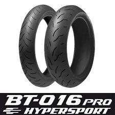 120/70-17 & 180/55-17 Bridgestone Bt016 Pro Kawasaki Z 750 S 2005 Tyres Pair Set